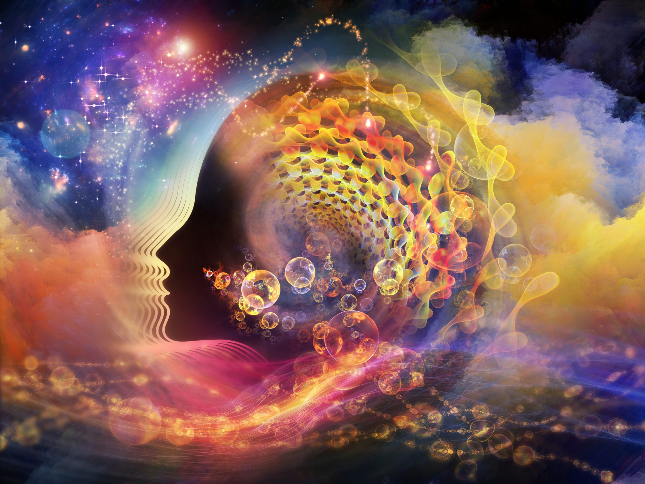 Contact with universal consciousness through the research of human mentality